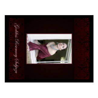 Der Godddess Rosemary auf dem Fenster Postkarte