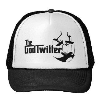 Der GodTwitter T - Shirt, schwarz Kappe