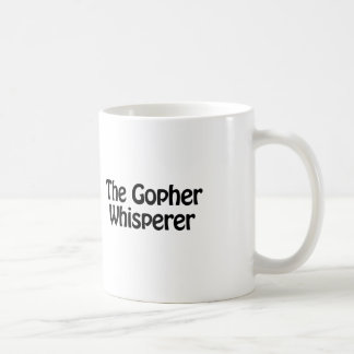 der Gopher Whisperer Kaffeetasse