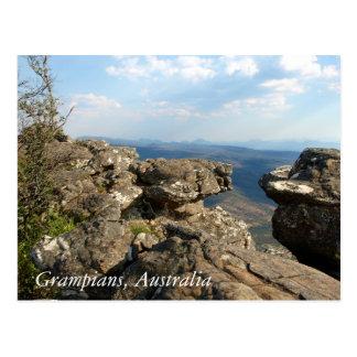 Der Grampians Nationalpark Australien Postkarte