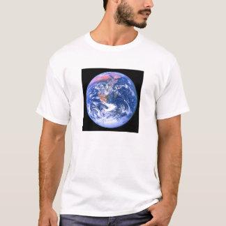 """Der große blaue Marmor "" T-Shirt"