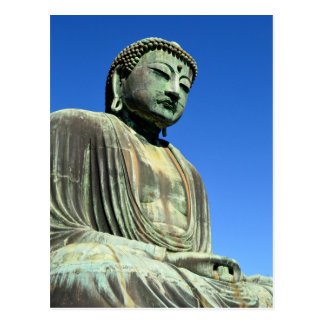 Der große Buddha: Kamakura, Japan Postkarte