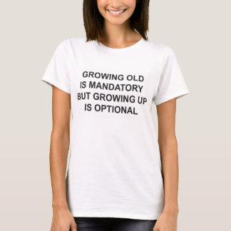 Der grundlegende T - Shirt der Frauen - alt nicht