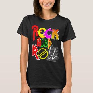 Der grundlegende T - Shirt der Rock-and-Rollfrauen