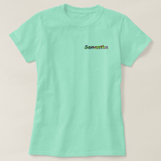 Der grundlegende T - Shirt Samantha-Frauen