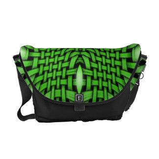 Der grüne Azteke Kurier Tasche