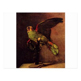 Der grüne Papagei durch Vincent van Gogh Postkarte