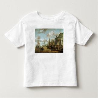 Der Hafen von Rhodos Kleinkinder T-shirt