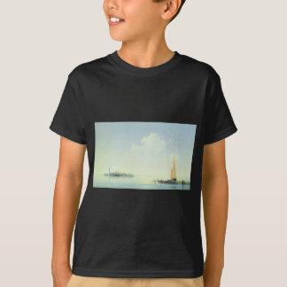 Der Hafen von Venedig, die Insel von San Georgio T-Shirt