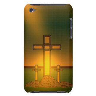 Der Hand des Gottes über dem Kreuz von Fall Barely There iPod Hülle