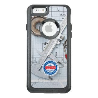 Der Handy-Fall NACKEN Ingenieurs OtterBox iPhone 6/6s Hülle
