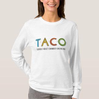 Der Hanes der Frauen langer Hülse TACO Nano-T - T-Shirt