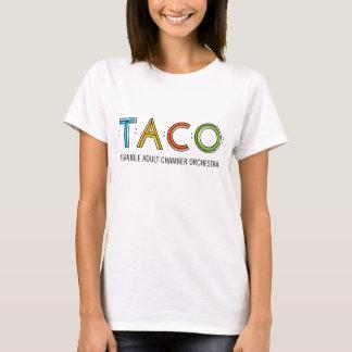 Der Hanes der Frauen Nano-TACO T - Shirt, weiß T-Shirt