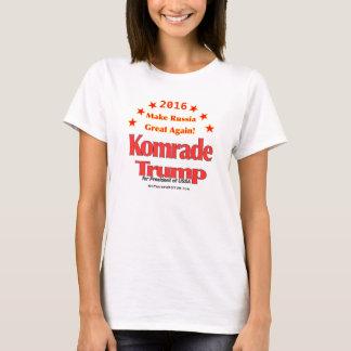 Der Hanes Frauen der Komrade Trumpf-2016 Nano T-Shirt