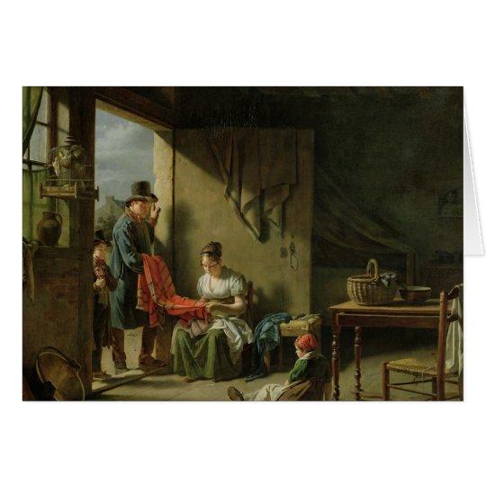 Der Hausierer, 1812 Grußkarte