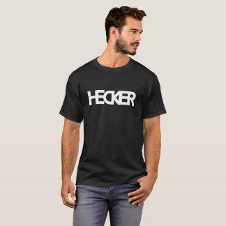 Der Heckin extravaganter dunkler Hecker der Männer T-Shirt