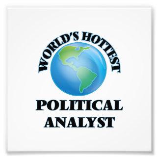 Der heißeste politische Analyst der Welt Fotografie