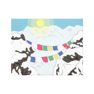 Der Himalaja Leinwanddruck