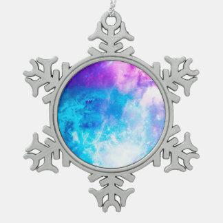 Der Himmel der Schaffung Schneeflocken Zinn-Ornament