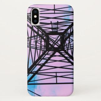Der Himmel ist der Grenze-Handy-Fall iPhone X Hülle