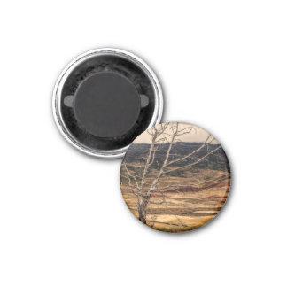 Der Hintergrund Runder Magnet 2,5 Cm