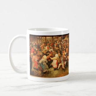 Der Hochzeits-Tanz - 1566 Kaffeetasse