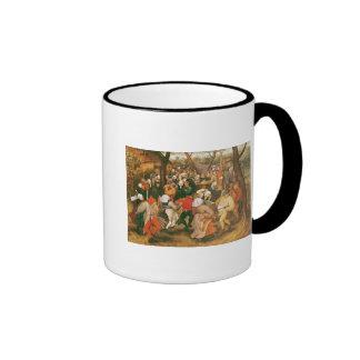 Der Hochzeits-Tanz, 1607 Kaffee Tasse
