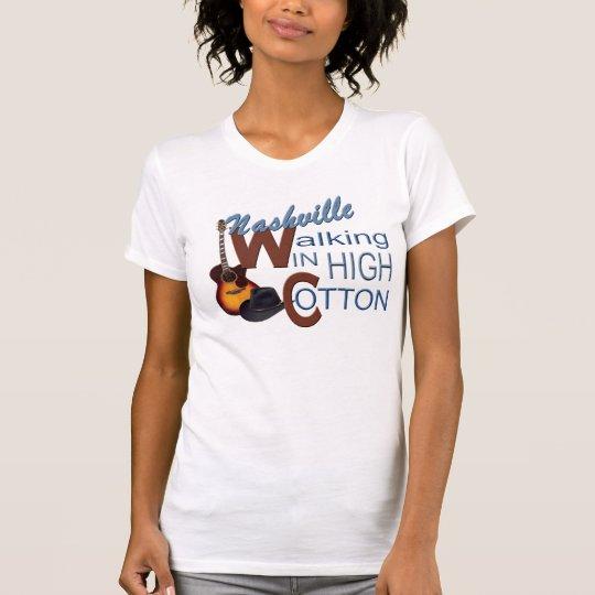 Der hohen das Jersey-T - Shirt Baumwollfrauen