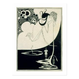 """Der Höhepunkt, Illustration von """"Salome"""" durch Postkarte"""