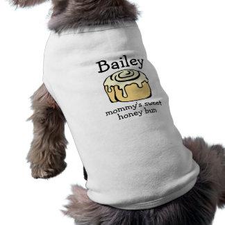 Der Honig-Brötchen-personalisiertes Zimtgebäck der Shirt