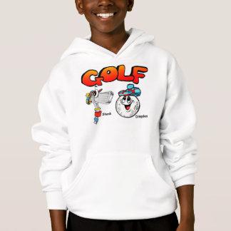 Der Hoodie des Golf-Kindes
