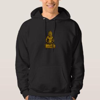 Der Hoodie goldener Buddha-Männer