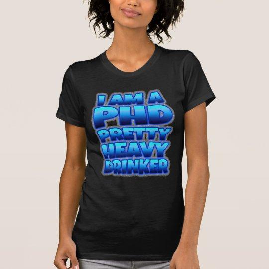 Der hübsche schwere Trinker der Frauen T-Shirt