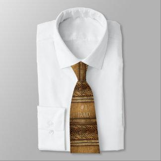 Der hübsche Vatertag Brown geschnitztes hölzerne Bedruckte Krawatten