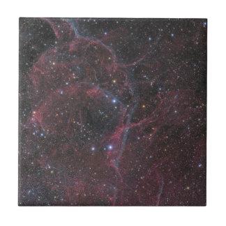 Der Hülle-Supernova-Rest Fliese