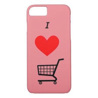 Der i ♥ Einkaufswagen Iphone Fall iPhone 7 Hülle