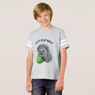 Der Igels-Fußball-Shirt der Kinder Playful T-Shirt