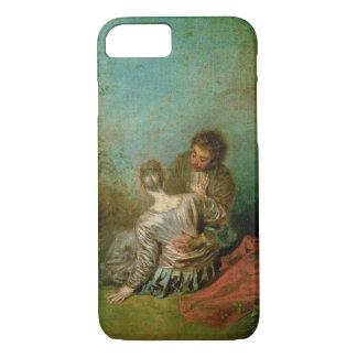 Der ImitatPas, c.1717 (Öl auf Leinwand) iPhone 8/7 Hülle