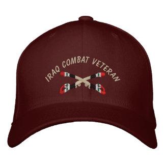 Der Irak-Veteranen-Kavallerie gekreuzter Säbel-Hut Bestickte Kappe