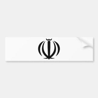 Der Iran-Wappen Autoaufkleber