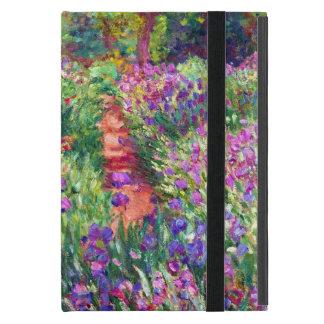 Der Iris-Garten durch Claude Monet iPad Mini Hülle