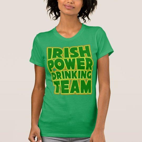 Der irische Power-trinkendes Team der Frauen T-Shirt