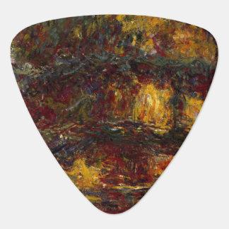Der japanische Steg, Giverny durch Claude Monet Plektrum
