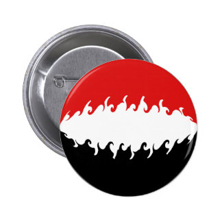 Der Jemen-Gnarly Flagge Anstecknadelbuttons