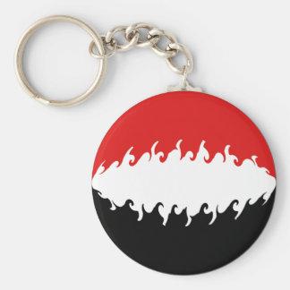 Der Jemen-Gnarly Flagge Schlüsselband