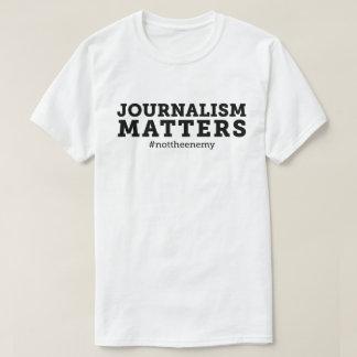 Der Journalismus-Angelegenheits-T - Shirt der