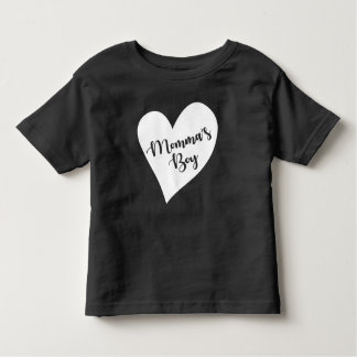 Der Junge der Mama Kleinkind T-shirt