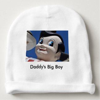 Der Jungen-Baby-Hut des Vatis großer Babymütze