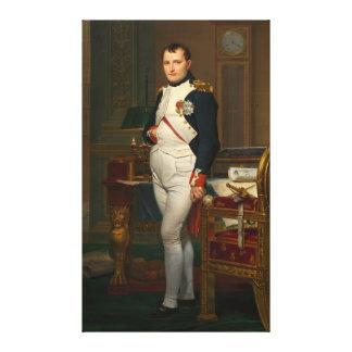 Der Kaiser Napoleon in seiner Studie beim Leinwanddruck