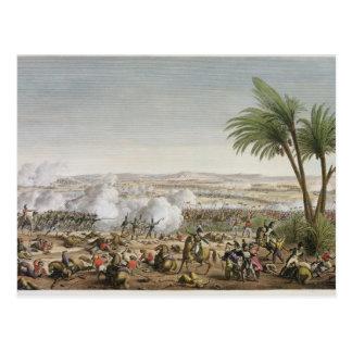 Der Kampf von Heliopolis, 29 Ventose, Jahr 8 (20 M Postkarte